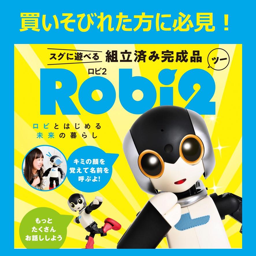 買いそびれた方必見!<br>組立済み完成品「ロビ2」販売開始!