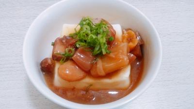 戦国武将メシ缶詰アレンジレシピ No3 汁講 レンジで簡単 豆腐あんかけ